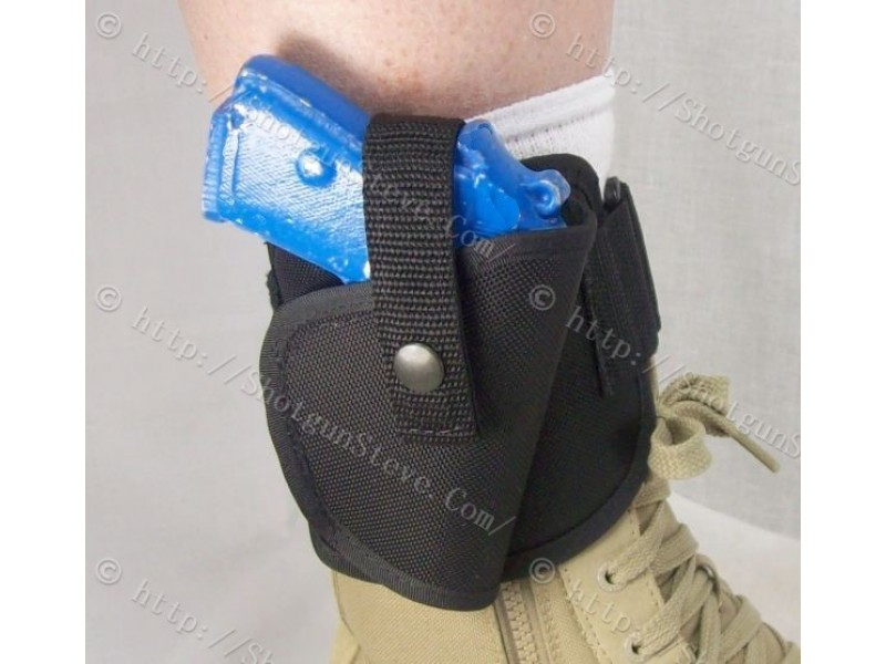 boot style ankle holster
