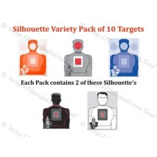Silhouette Variety Pack of 10 Targets